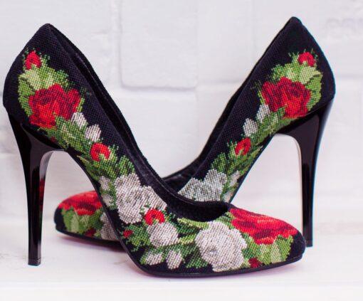 """Туфлі """"Розкішні троянди"""""""