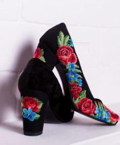 """Туфлі """"Троянди і фіалки"""""""