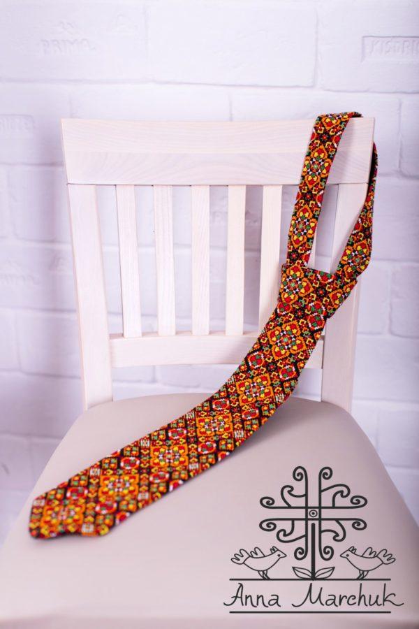 """Комплект """"Марічка""""- жіночий пояс та краватка"""
