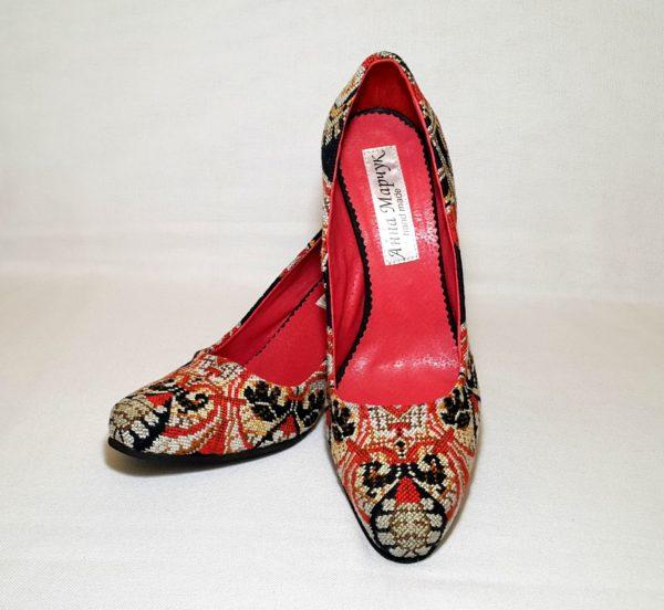 """Туфлі """"Червоне і чорне"""""""