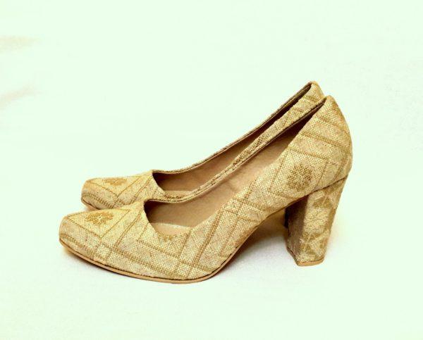 """Туфлі """"Орнамент на льоні"""""""