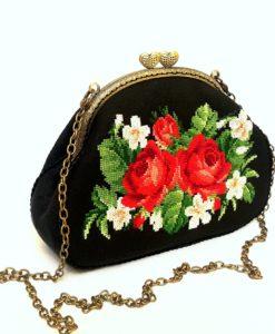 """Cумка """"Ніжні троянди"""" маленька"""