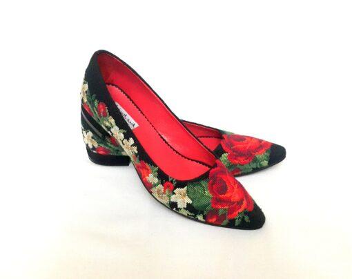 """Туфлі-лодочки """"Ніжні троянди"""""""