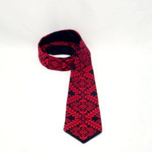 """Краватка """"Червоне і чорне"""""""