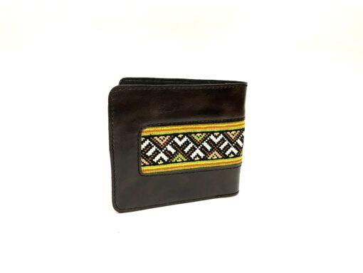 """Чоловічий гаманець """"Соборність"""" А1 коричневий"""