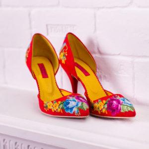 """Туфлі """"Мрія кожної жінки"""" червоні"""