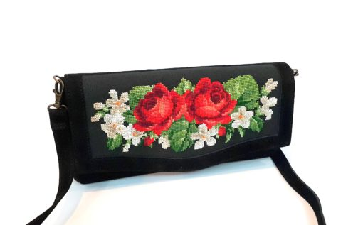 """Клатч """"Ніжні троянди"""""""